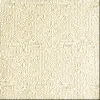 Servietten 33x33 cm - Elegante Perlencreme