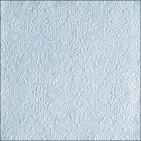 Servietten 33x33 cm - Elegance Pearl Blue