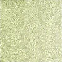 Servietten 33x33 cm - Elegance Pearl Green