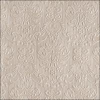 Servietten 33x33 cm - Eleganz Perle Taupe
