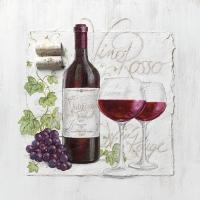 Lunch Servietten Vino Rosso