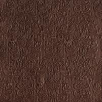 Servietten 33x33 cm - Elegance Brown