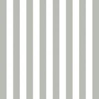 Servietten 33x33 cm - Streifen Grau