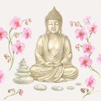 Lunch Servietten Buddha