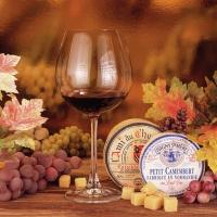 Servietten 33x33 cm - Fromage Et Vin