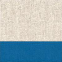 Servietten 33x33 cm - Leinen Blau