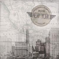 Servietten 33x33 cm - New York
