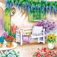 Lunch Servietten Garden Seat