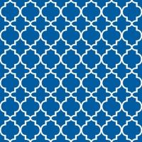 Servietten 33x33 cm - Ogee Blue