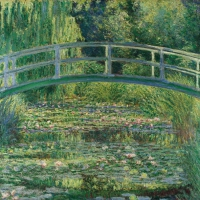 Servietten 33x33 cm - Water-Lily Pond
