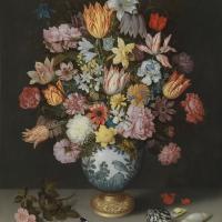 Servietten 33x33 cm - Bosschaert Floral