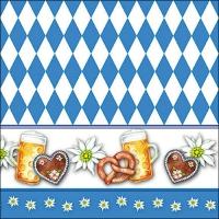 Servietten 33x33 cm - Oktoberfest