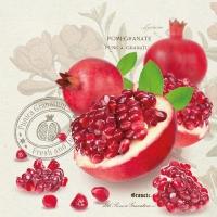 Servietten 33x33 cm - Pomegranate
