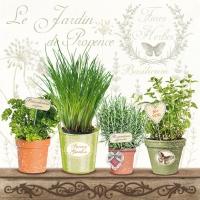 Servietten 33x33 cm - Le Jardin De Provence