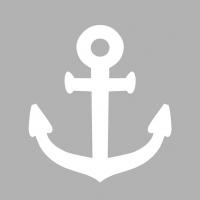 Servietten 33x33 cm - Navy Grey Neg.