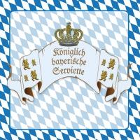 Lunch Servietten Königliches Bayern