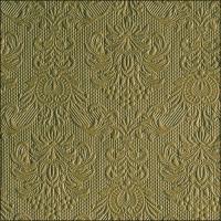 Servietten 33x33 cm - Elegance Olive Green