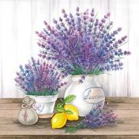 Servietten 33x33 cm - Lavender