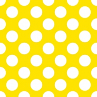 Servietten 33x33 cm - Big Dots Yellow