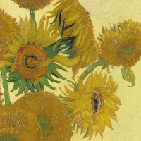 Lunch Servietten Van Gogh Sunflower