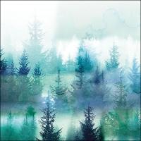 Servietten 33x33 cm - Forest Fog