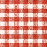 Servietten 33x33 cm - Quadratisch Rot