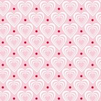 Servietten 33x33 cm - Herzen in Herzen Rosa