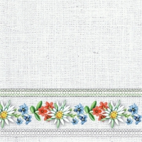 Servietten 33x33 cm - Bavarian Flowers Stone