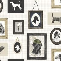 Servietten 33x33 cm - Detective Dog