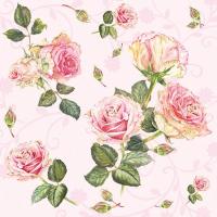 Servietten 33x33 cm - Rosie Rose
