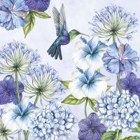 Servietten 33x33 cm - Hummingbird