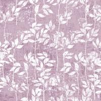 Servietten 33x33 cm - Leaves Pattern Lilac