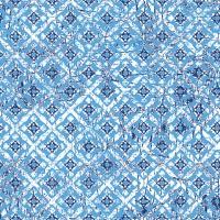 Servietten 33x33 cm - Hiba Blau