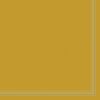 Servietten 33x33 cm - Lea Ocher