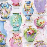 Servietten 33x33 cm - Vases