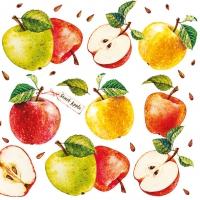 Servietten 33x33 cm - Sweet Apple