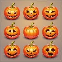 Servietten 33x33 cm - Halloween Pumpkins