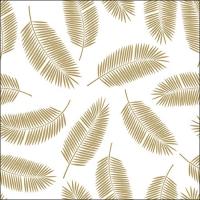 Servietten 33x33 cm - Palm Leaves Gold