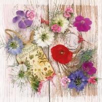 Servietten 33x33 cm - Summer Flowers