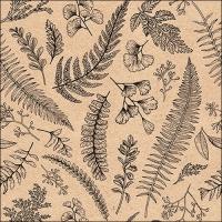 Servietten 33x33 cm - Leaves And Herbs