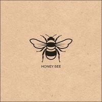 Servietten 33x33 cm - Honey Bee