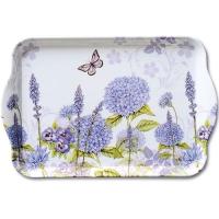 Tablett  Purple Wildflowers