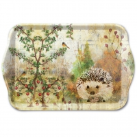 Tablett - Autumn Hedgehog