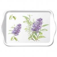 Tablett - Lilac White