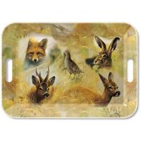 Tablett - Wild Animals Collage