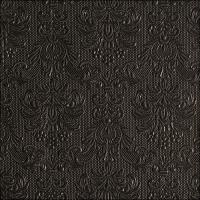 Servietten 40x40 cm - Elegance Black