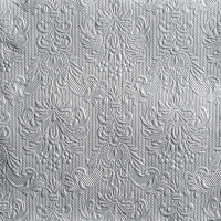 Servietten 40x40 cm - Elegance Silver