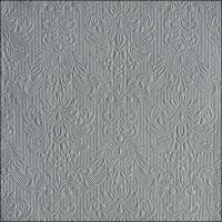 Servietten 40x40 cm - Elegance Grey