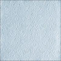 Servietten 40x40 cm - Elegance Pearl Blue