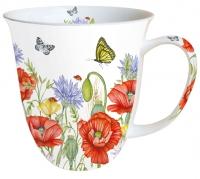 Porzellan-Tasse - Sommerzeit